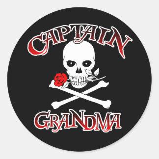 Kapitän Grandma Sticker