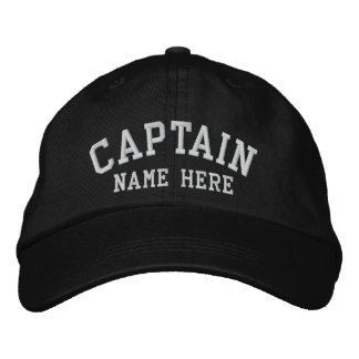 Kapitän - kundengerecht bestickte baseballcaps