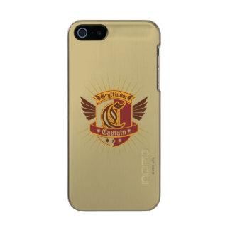 Kapitän Logo Harry Potter-  Gryffindor QUIDDITCH™ Incipio Feather® Shine iPhone 5 Hülle
