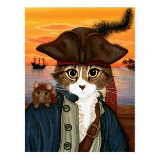 Kapitän Löwe, Piraten-Katze u. Postkarte