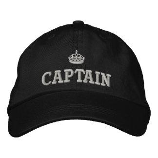 Kapitän mit Kronenlogo Bestickte Baseballkappe