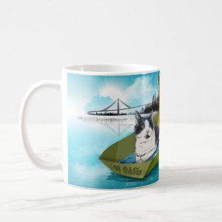 Kapitän Oliver u. die SS-Oase (Katze in der Kaffeetasse