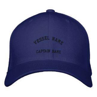 Kapitän-Schiff gesticktes Kappen-Carolina-Blau Bestickte Baseballkappe