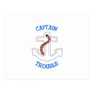 Kapitän Trouble Postkarte