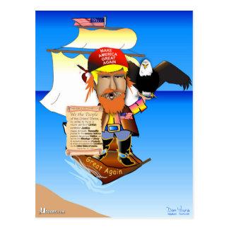 Kapitän Trump Postkarte