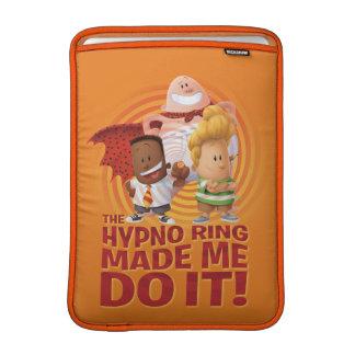 Kapitän Underpants | der Hypno Ring ließ mich ihn MacBook Air Sleeve