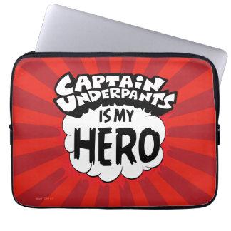 Kapitän Underpants | mein Held Laptopschutzhülle