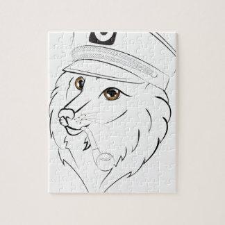 Kapitän Wolf Illustration Puzzle