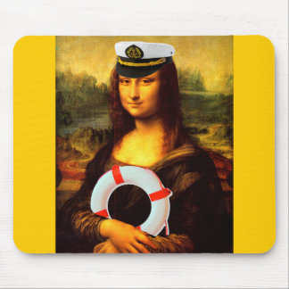Kapitän zur See Mona Lisa Mousepad