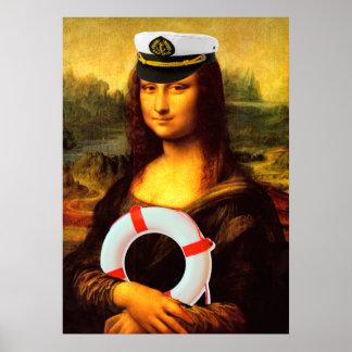 Kapitän zur See Mona Lisa Poster