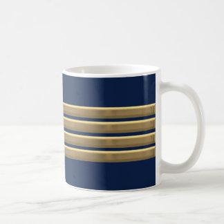 Kapitängoldstreifen Kaffeetasse