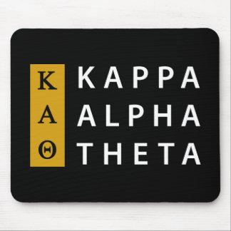 Kappa-Alpha Theta-| Staplungslogo Mousepad