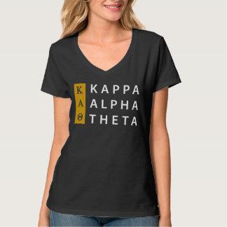 Kappa-Alpha Theta-| Staplungslogo T-Shirt