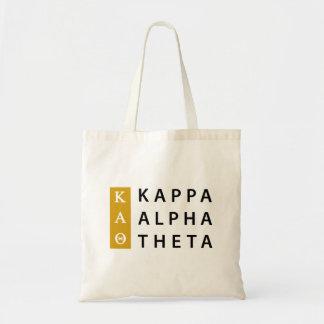 Kappa-Alpha Theta-  Staplungslogo Tragetasche