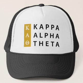 Kappa-Alpha Theta-  Staplungslogo Truckerkappe