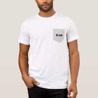 Kappa-Alphatheta-gotische Schriften T-Shirt