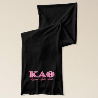 Kappa-Alphatheta-Rosa-Buchstaben Schal