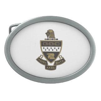 Kappa-Alphatheta-Wappen: Farbe Ovale Gürtelschnalle