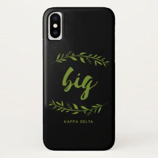 Kappa-Deltagroßer Kranz iPhone X Hülle