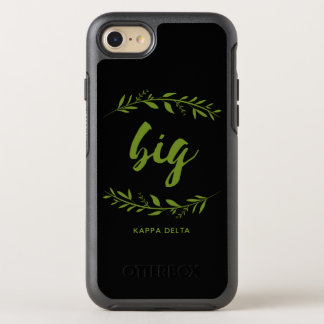 Kappa-Deltagroßer Kranz OtterBox Symmetry iPhone 8/7 Hülle