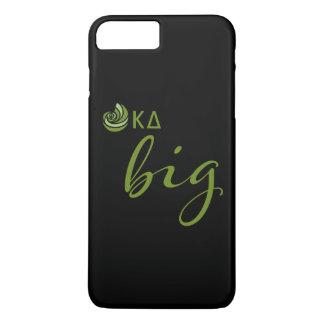 Kappa-Deltagroßes Skript iPhone 8 Plus/7 Plus Hülle