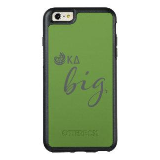 Kappa-Deltagroßes Skript OtterBox iPhone 6/6s Plus Hülle