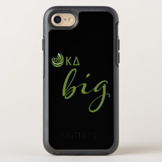 Kappa-Deltagroßes Skript OtterBox Symmetry iPhone 8/7 Hülle