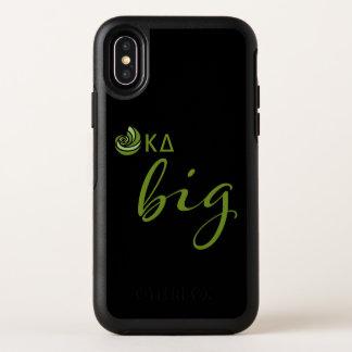 Kappa-Deltagroßes Skript OtterBox Symmetry iPhone X Hülle