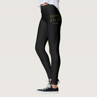 Kappa-Deltamoderne Art Leggings