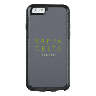 Kappa-Deltamoderne Art OtterBox iPhone 6/6s Hülle