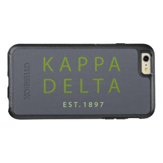 Kappa-Deltamoderne Art OtterBox iPhone 6/6s Plus Hülle