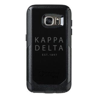 Kappa-Deltamoderne Art OtterBox Samsung Galaxy S7 Hülle