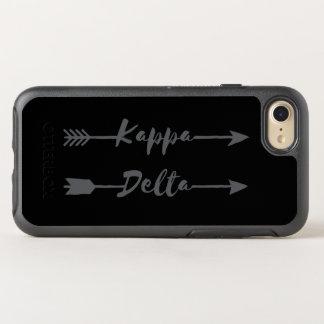 Kappa-Deltapfeil OtterBox Symmetry iPhone 8/7 Hülle