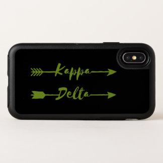 Kappa-Deltapfeil OtterBox Symmetry iPhone X Hülle