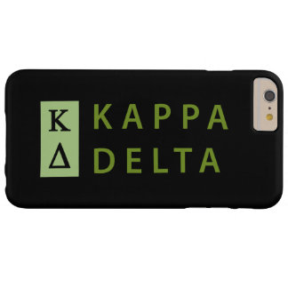 Kappa-Dreieck gestapelt Barely There iPhone 6 Plus Hülle