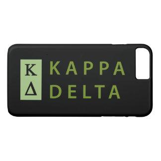 Kappa-Dreieck gestapelt iPhone 8 Plus/7 Plus Hülle