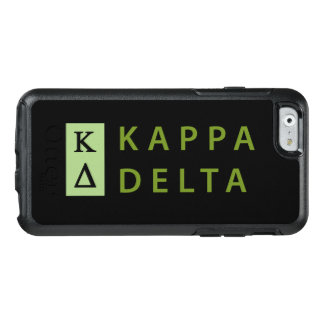 Kappa-Dreieck gestapelt OtterBox iPhone 6/6s Hülle