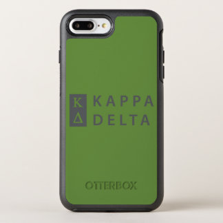 Kappa-Dreieck gestapelt OtterBox Symmetry iPhone 8 Plus/7 Plus Hülle