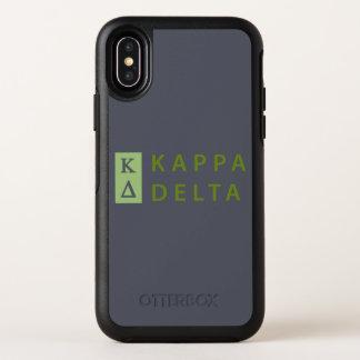 Kappa-Dreieck gestapelt OtterBox Symmetry iPhone X Hülle