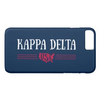 Kappa-Dreieck USA iPhone 8 Plus/7 Plus Hülle