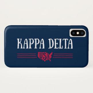 Kappa-Dreieck USA iPhone X Hülle