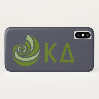 Kappa-DreiecksLil großes Logo iPhone X Hülle