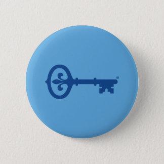 Kappa-Kappagama-Schlüsselsymbol Runder Button 5,1 Cm