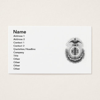 Kappa-Sigma Visitenkarte