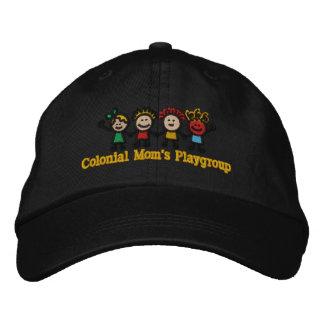 Kappe der gestickten Kolonialmammas Mitglieds Baseballmütze