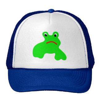 Kappe mit Frosch