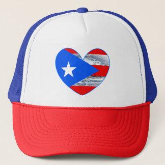 Kappe Puerto- Ricoflaggen-Hurrikan-Maria 2017