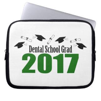 Kappen des zahnmedizinische Schulabsolvent-2017 Laptopschutzhülle