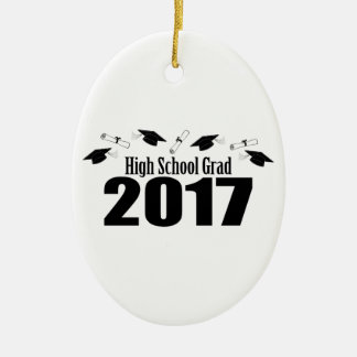 Kappen Highschool Absolvent-2017 und Diplome Keramik Ornament