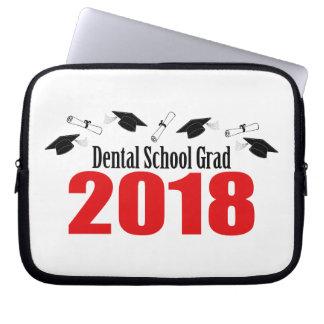 Kappen und Diplome des zahnmedizinische Laptop Sleeve